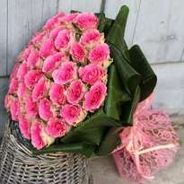"Bouquet of roses ""Pink"""