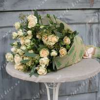 Bouquet of 15 spray roses