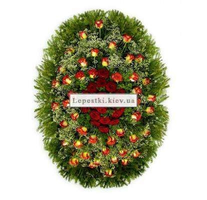 Funeral wreath №3
