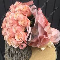 "Bouquet of peony roses ""Shimmer"""
