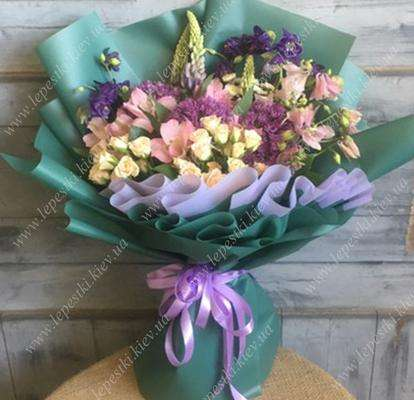 """Spring bouquet """"Royal day"""""""