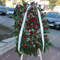 Funeral wreath number 24