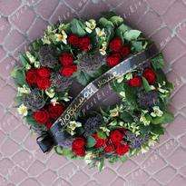 Funeral wreath number 27