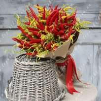 "Men's bouquet ""Mr. Pepper"""