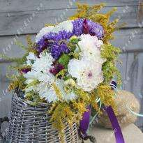"""Bouquet of flowers """"Magic of colors"""""""