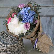 """Bouquet of flowers with hydrangea """"Milady"""""""