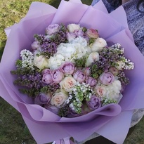 """Bouquet with lilacs """"Fairy Tale"""""""